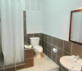 pool side bathroom